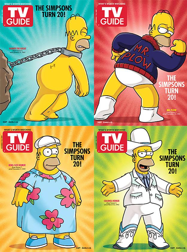 Les simpsons page 10 - Homer simpson nu ...